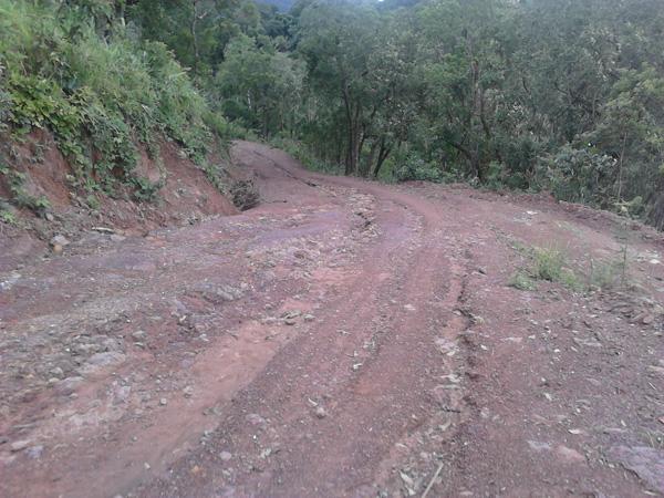 Дорога в Лаосе
