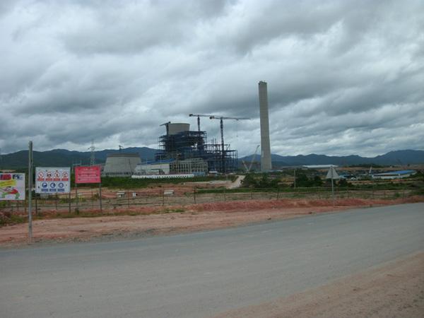 Электростанция в Лаосе