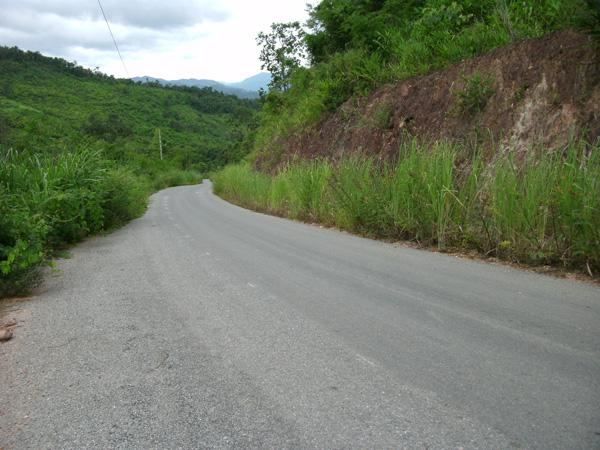 Автострада в Лаосе
